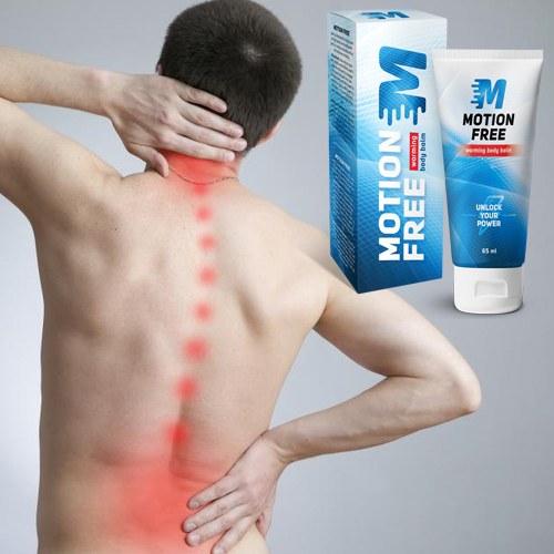 Motion Free een effectieve gel voor pijn in spieren en gewrichten